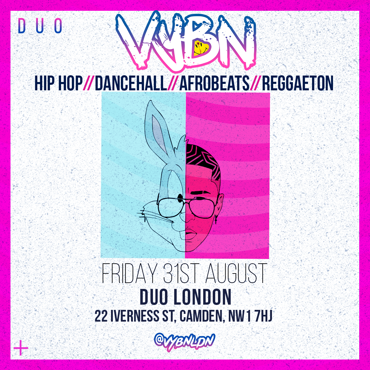 Vybn Duo London Flyer