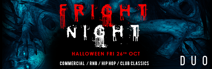 Fright Night Fri 26th Oct