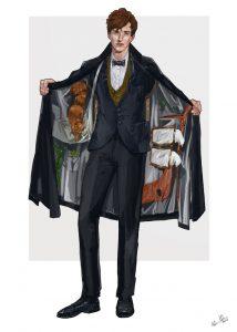 Warrwen Holder fantastic Beasts London, DUO camden , concepts, London